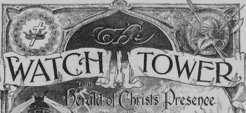 WATCH TOWER, June 1, 1916